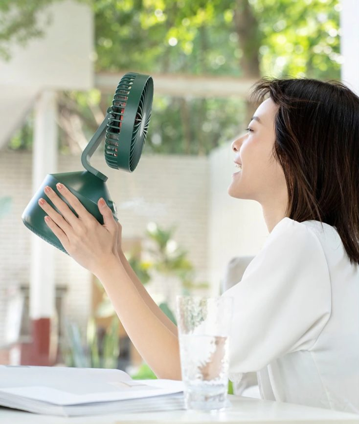 Nebelventilator Schüttsicher