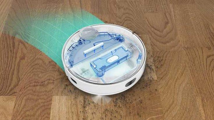Qihoo 360 S9 Saugroboter Wischfunktion