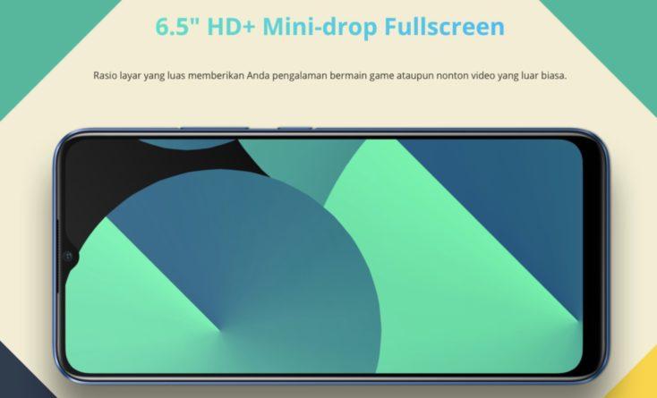 Realme C15 Smartphone Display