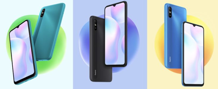 Redmi 9A Smartphone Farben