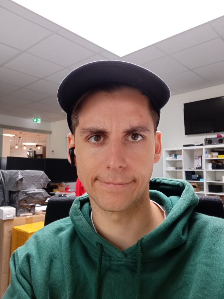Redmi Note 9 Frontkamera Testfoto Farben