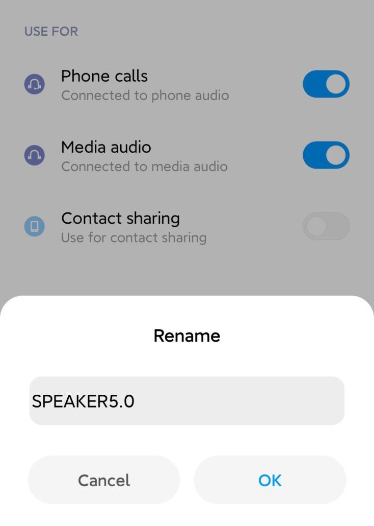 Sonkir Speaker Bluetooth Kopplung