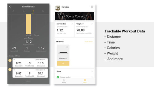 WalkingPad S1 Kingsmith App