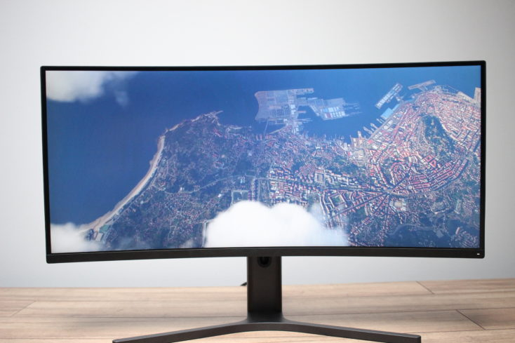 Xiaomi Curved Gaming Monitor Gaming Footage 1