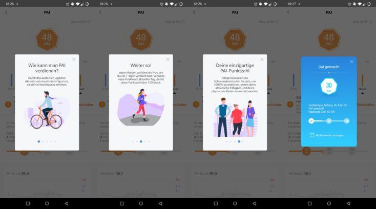 Xiaomi Mi Band 5 PAI Personal Activity Intelligence