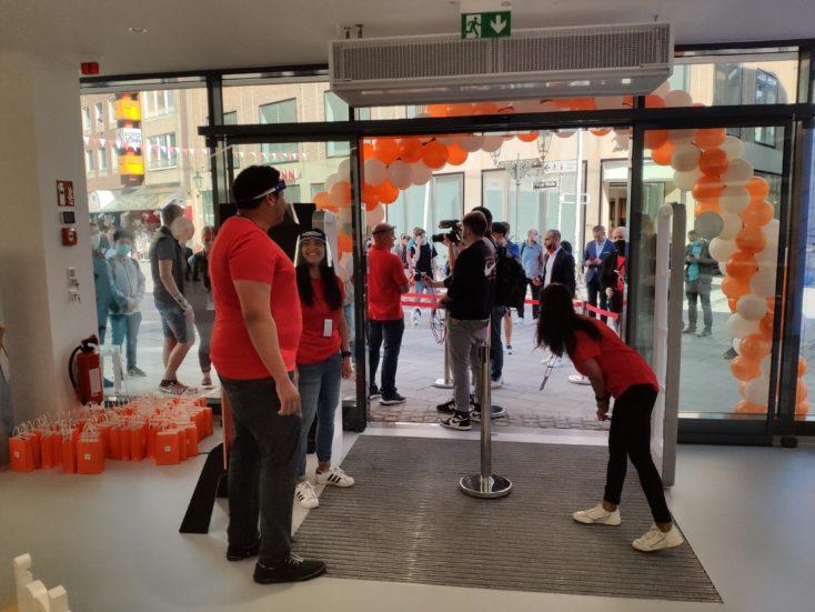 Xiaomi Store Eroeffnung Countdown