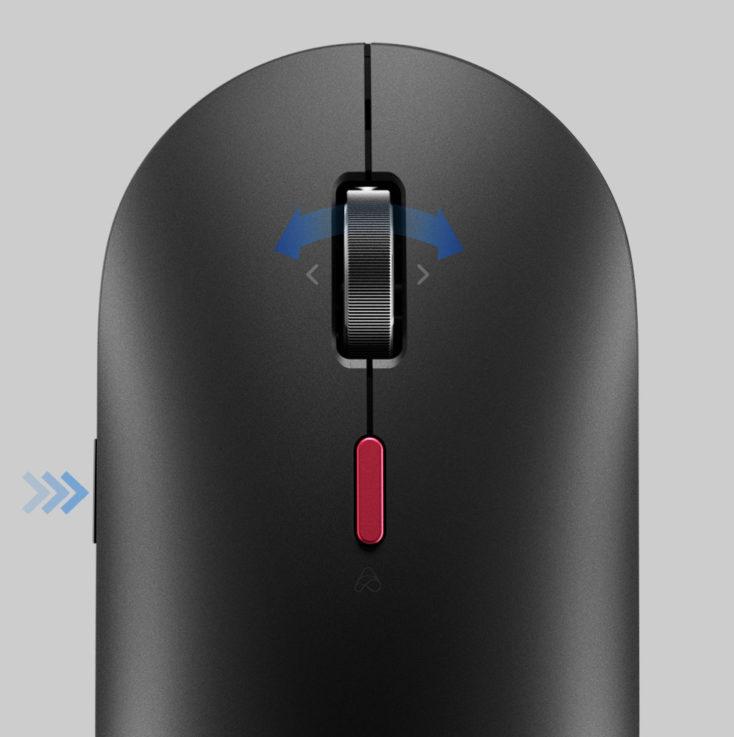 Xiaomi XiaoAI Smart Mouse Tasten