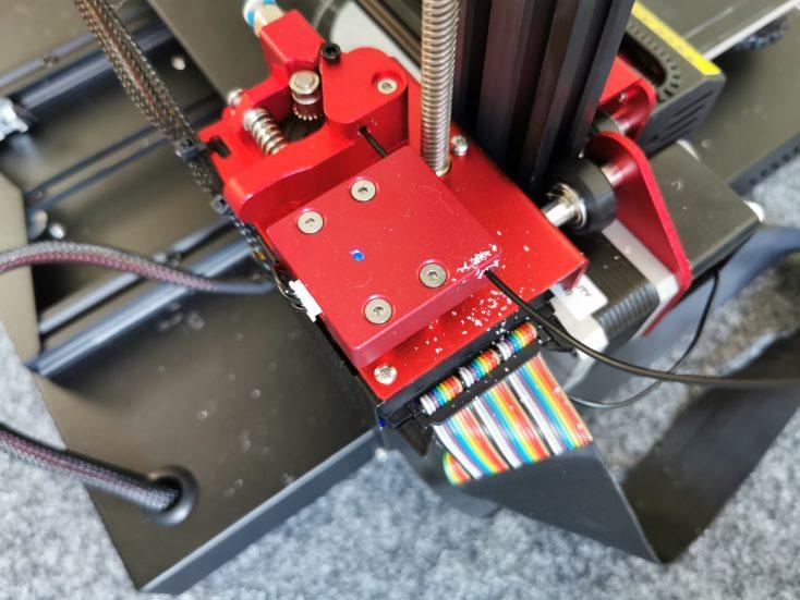 Creality3D CR-10S Pro V2 abrieb-filament