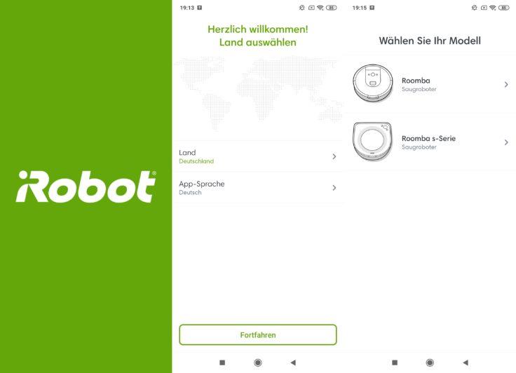 iRobot Roomba s9 Saugroboter App Home Registrierung