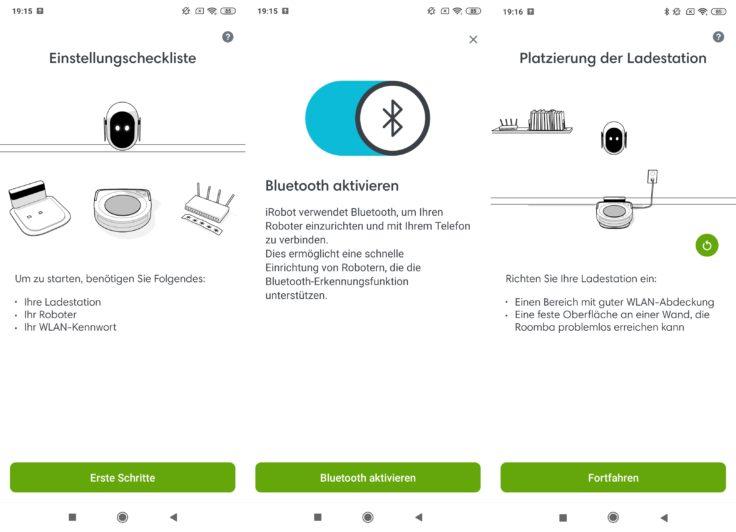 iRobot Roomba s9 Saugroboter App Home Verbindung WLAN