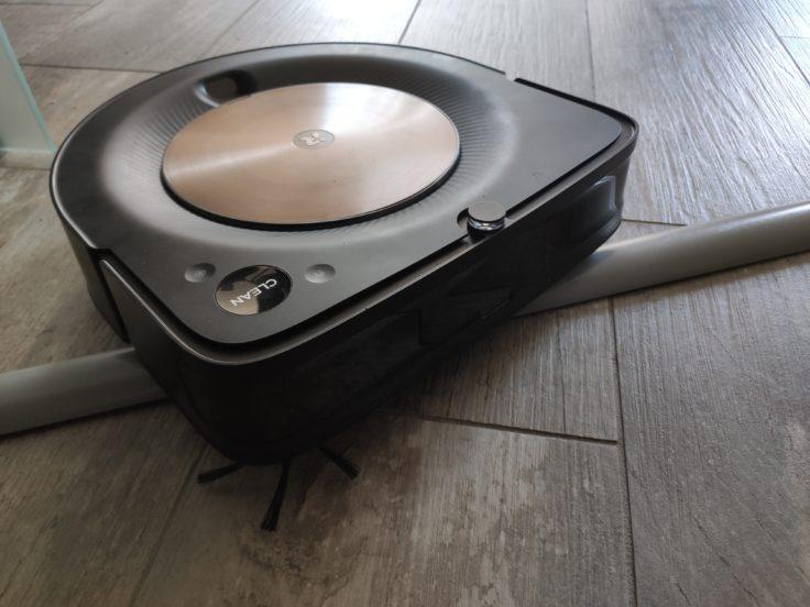 iRobot Roomba s9 Saugroboter Hindernisse ueberwinden Tuerschwellen