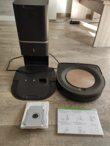 iRobot Roomba s9 Saugroboter Lieferumfang
