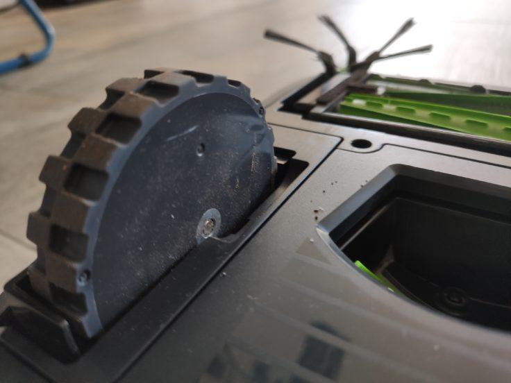 iRobot Roomba s9 Saugroboter Reifen Unterseite