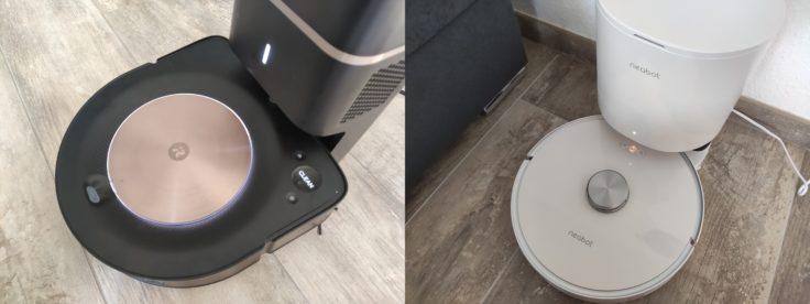 iRobot Roomba s9 Saugroboter Vergleich Absaugstation Neabot