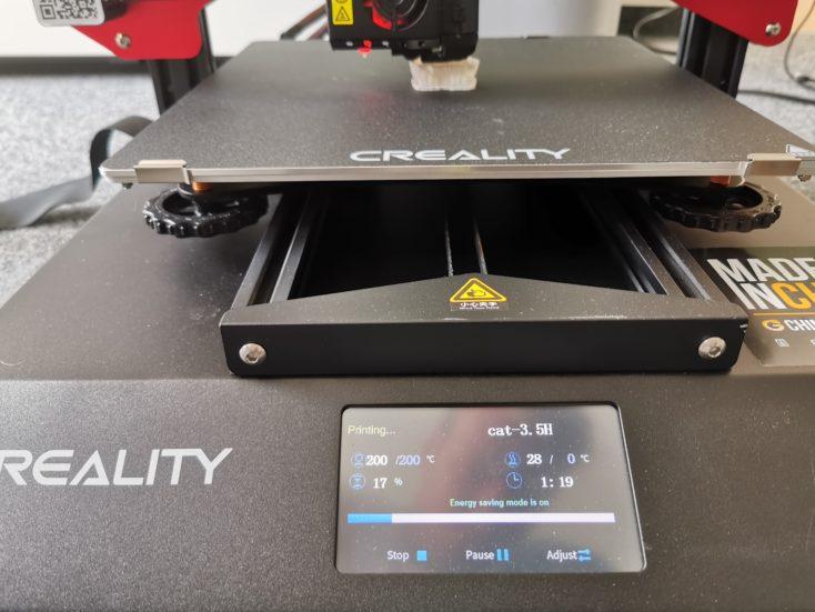 Creality3D CR-10S Pro V2 katze-druck-test