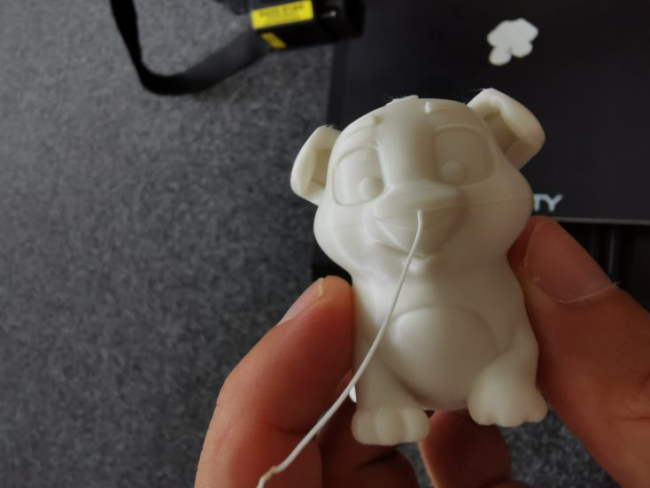 Creality3D CR-10S Pro V2 resume-printing ergebnis