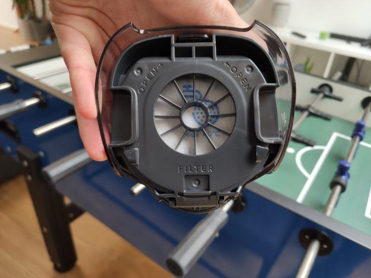 AEG QX9 Akkustaubsauger Filterung