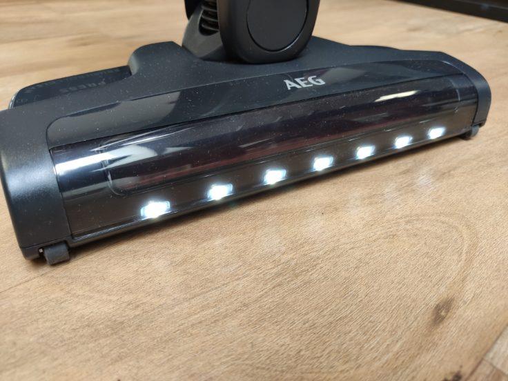 AEG QX9 Akkustaubsauger LED-Leuchten