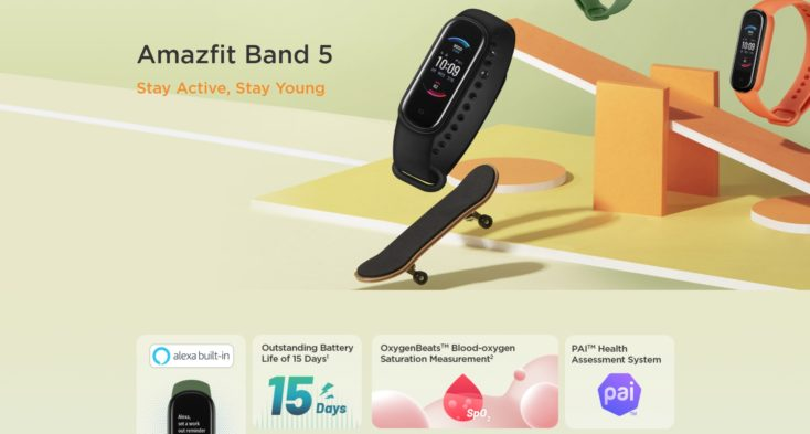 Amazfit Band 5 Fitnesstracker