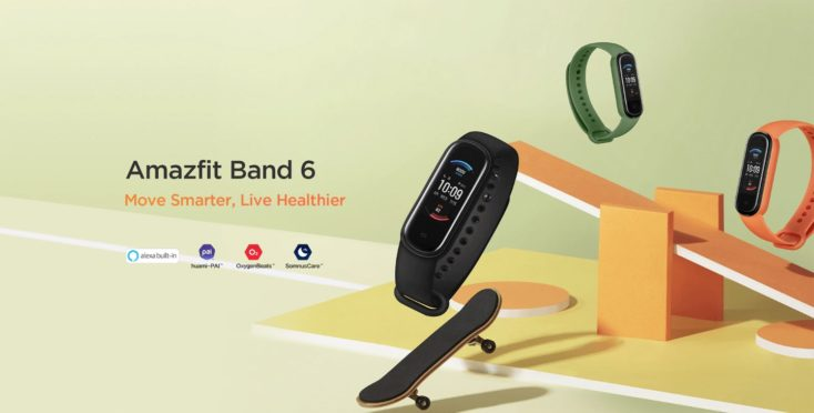 Amazfit Band 6 Fitness Tracker
