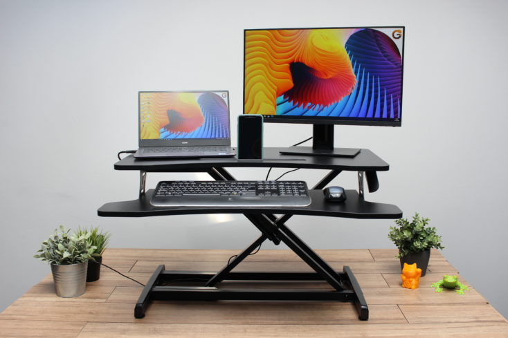 BlitzWolf Höhenverstellbarer Schreibtischaufsatz