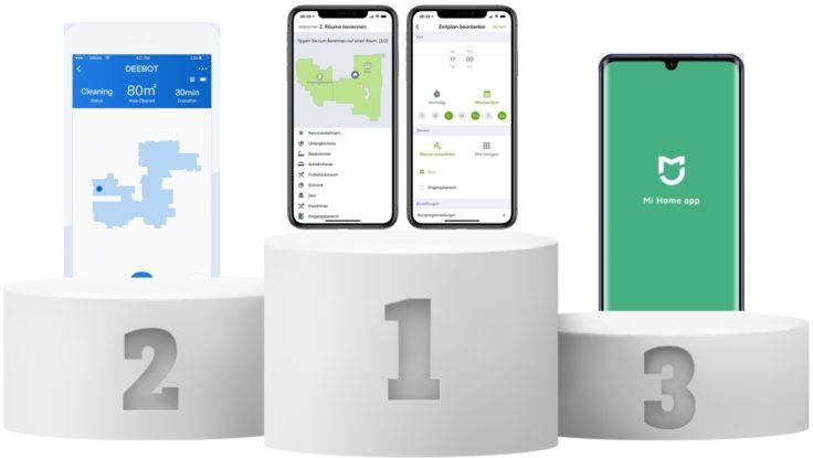 Die besten Saugroboter Bestenlisten Kategorie App