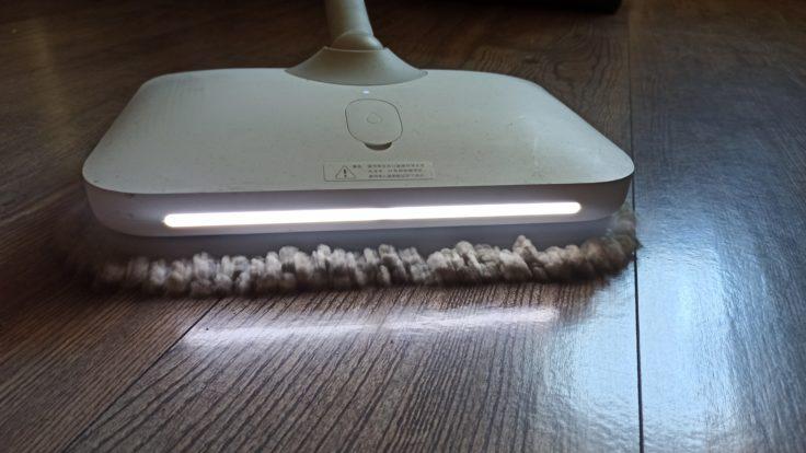 Dreame CC elektrischer Wischmopp Vergleich Mijia Mop LEDs