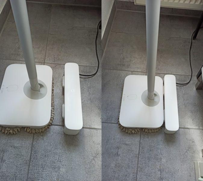 Dreame CC elektrischer Wischmopp Vergleich Mijia Mop Ladestation Xiaomi