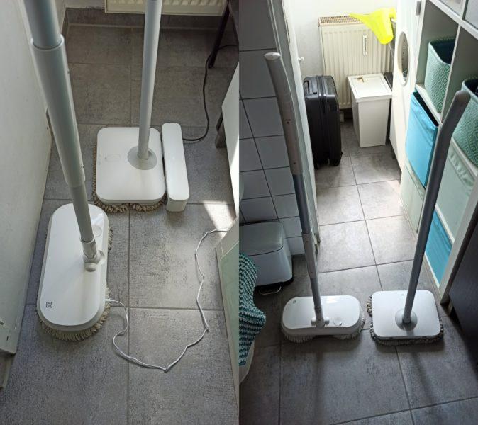 Dreame CC elektrischer Wischmopp Vergleich Mijia Mopp
