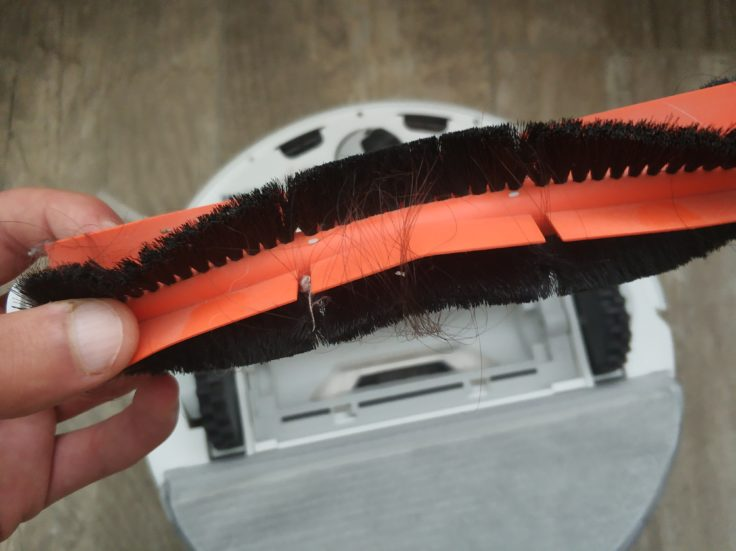 Dreame F9 Saugroboter mittlere Bürste Haare