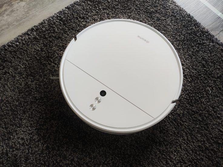 Dreame F9 Saugroboter Saugkraft auf Teppich