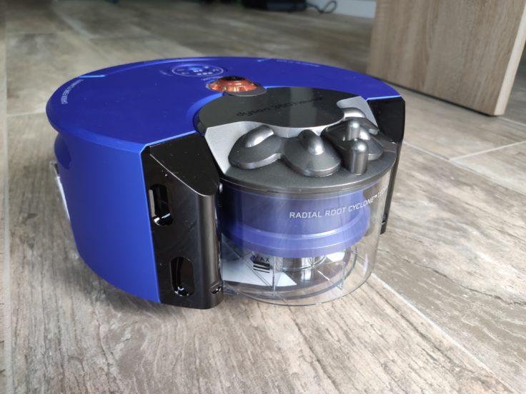 Dyson 360 Heurist Saugroboter Staubkammer