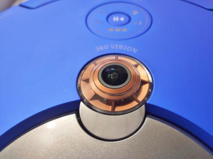 Dyson 360 Heurist Saugroboter optische Linse