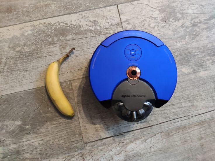 Dyson 360 Heurist Saugroboter Vergleich Banane Maße