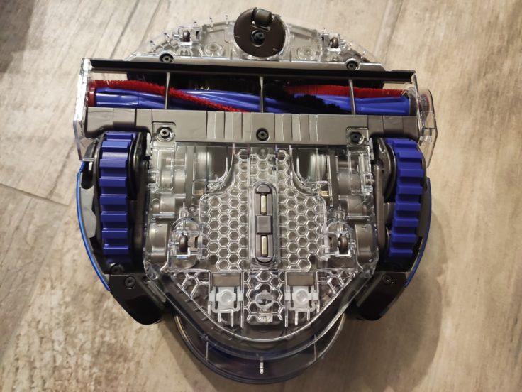 Dyson 360 Heurist Saugroboter Unterseite