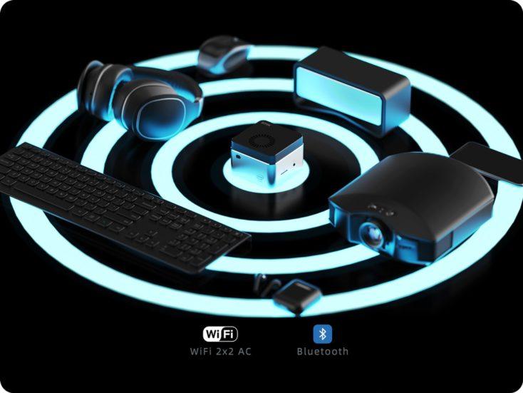 GMK NucBox Computer Konnektivität