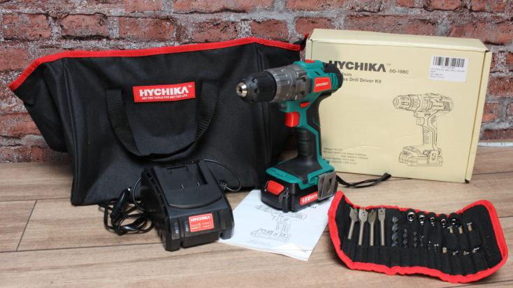 Hychika DD-18BC Lieferumfang
