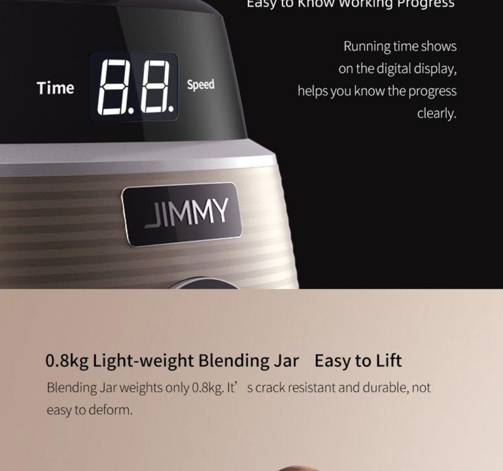 Jimmy Mixer Display