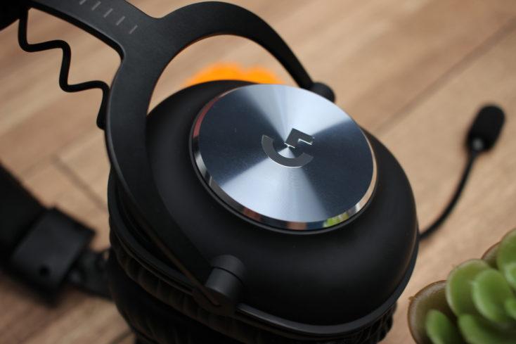 Logitech G PRO X Gaming Headset Rueckseite