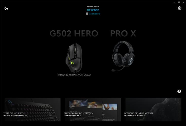 Logitech G PRO X Gaming Headset Software