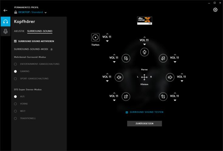 Logitech G PRO X Gaming Headset Surround-Sound