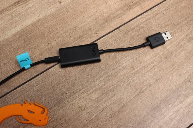 Logitech G PRO X Gaming Headset USB-Soundkarte