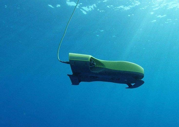 Nemo 4K Unterwasser-Drohne unter Wasser