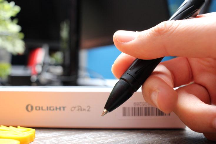 Olight OPen 2 Kugelschreiber schreiben