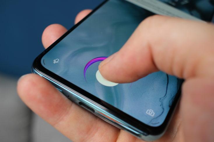 OnePlus Nord Fingerabdrucksensor
