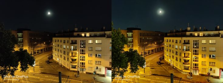 OnePlus Nord Hauptkamera Nachtmodus