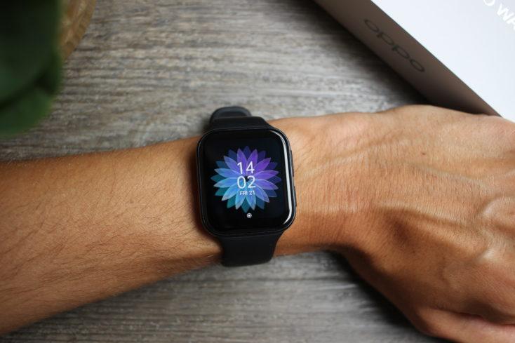 Oppo Watch Smartwatch am Arm