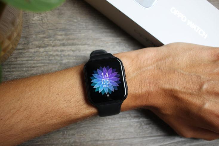 Oppo Watch Smartwatch am Arm 2