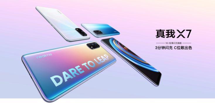 Realme X7 Smartphone Farben