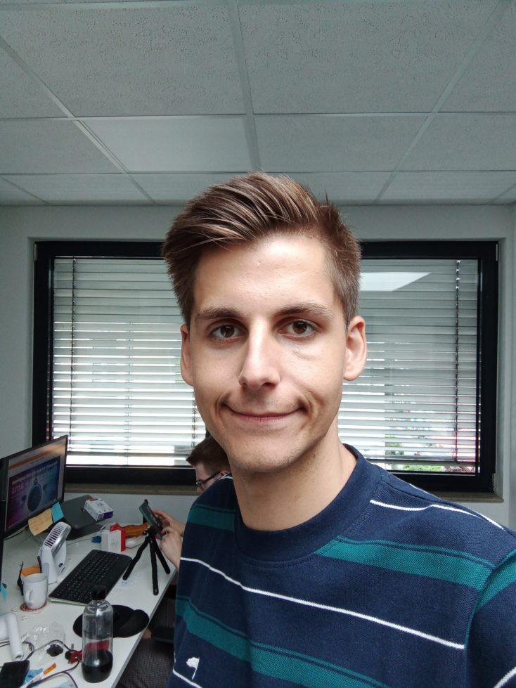 Redmi 9 Frontkamera Testfoto Selfie